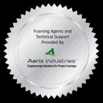 Aerix Industries foam solution