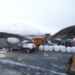 Unalaska-Overseeing batching with Contractor-supplied equipment and materials in cold weather.