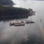 Hoonah-Flying in from Juneau for cruise ship dock project.